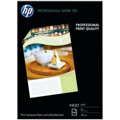 HP Professional Matt Inkjet Paper, 100 listů/A4/210 x 297 mm