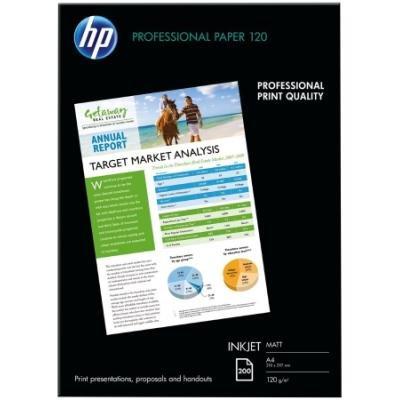 HP Professional Matt Inkjet Paper, 200 listů/A4/210 x 297 mm