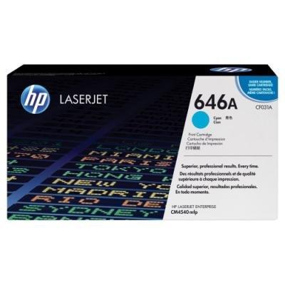 Toner HP 646A (CF031A) modrý