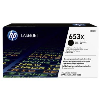 Toner HP 653X (CF320X) černý
