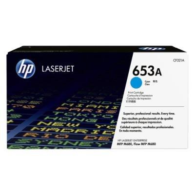 Toner HP 653A (CF321A) modrý
