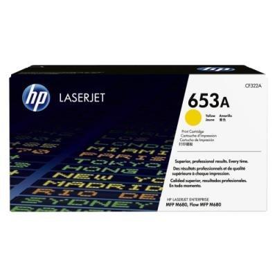 Toner HP 653A (CF322A) žlutý