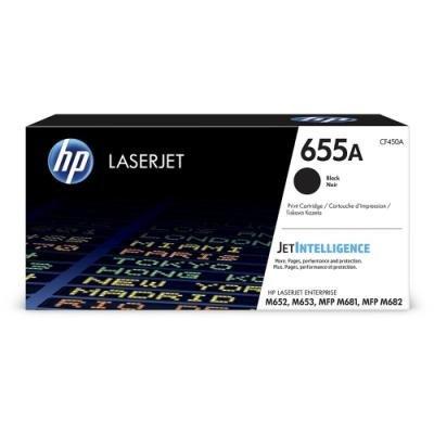 Toner HP 655A (CF450A) černý