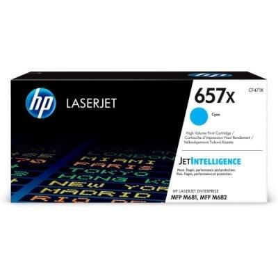 Toner HP 657X (CF471X) modrý