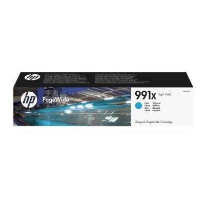 Inkoustová náplň HP 991X (M0J90AE) modrá