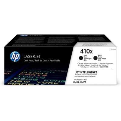 Toner HP 410X (CF410XD) dvojpack černý