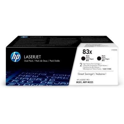 HP 83X (CF283XD) dvojpack černý
