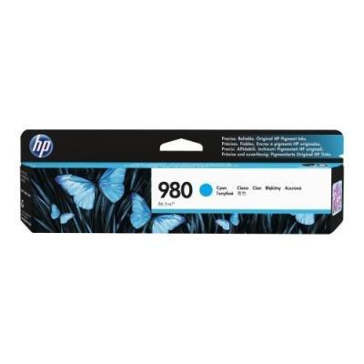 Inkoustová náplň HP 980 (D8J07A) modrá