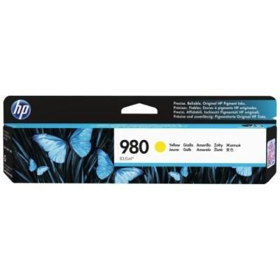 Inkoustová náplň HP 980 (D8J09A) žlutá