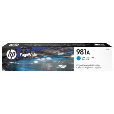 Inkoustová náplň HP 981A (J3M68A) modrá
