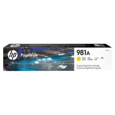 Inkoustová náplň HP 981A (J3M70A) žlutá