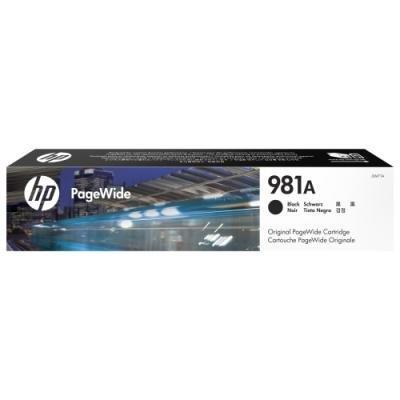 Inkoustová náplň HP 981A (J3M71A) černá