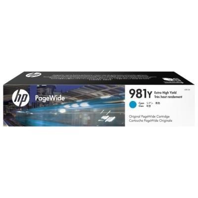 Inkoustová náplň HP 981Y (L0R13A) modrá