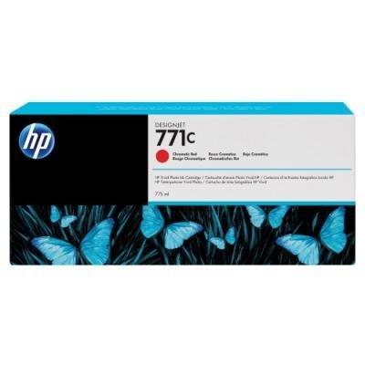 Inkoustová náplň HP 771C (B6Y08A) červená