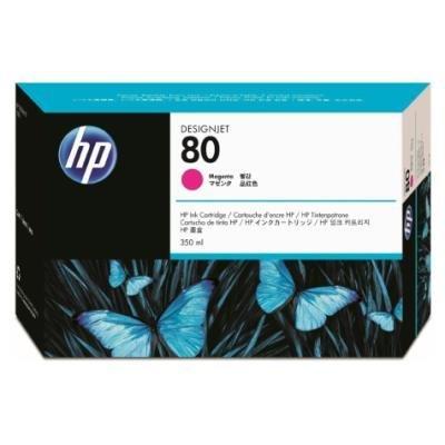 Inkoustová náplň HP 80 (C4847A) červená