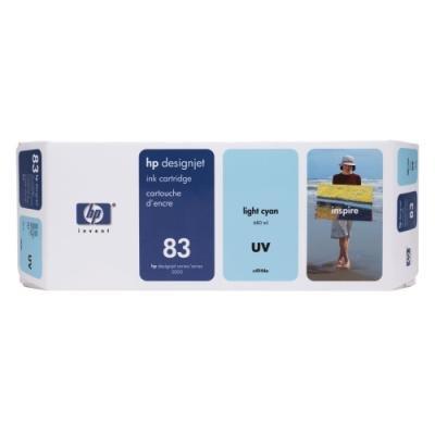 Inkoustová náplň HP 83 (C4944A) modrá