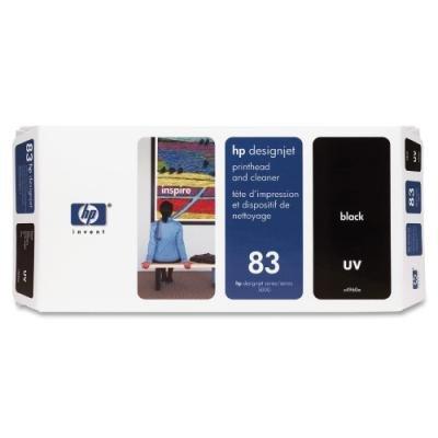 Tisková hlava HP 83 (C4960A) černá UV