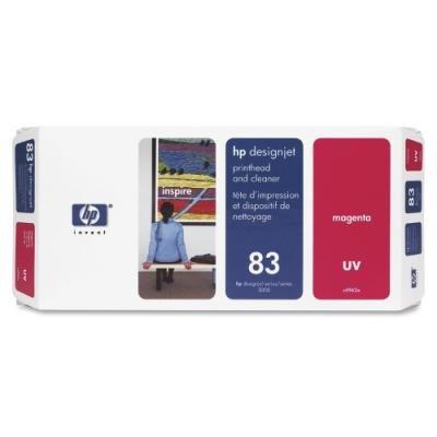 Tisková hlava HP 83 (C4962A) červená UV