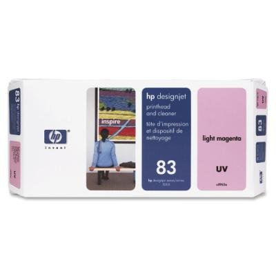Tisková hlava HP 83 (C4965A) světle červená UV