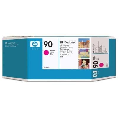 Inkoustová náplň HP 90 (C5062A) červená