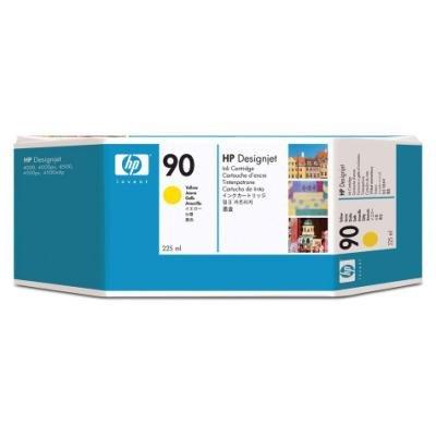Inkoustová náplň HP 90 (C5064A) žlutá