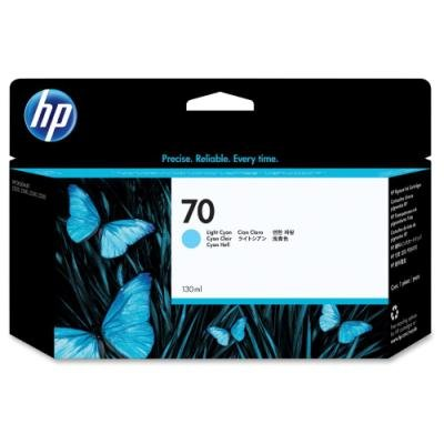 Inkoustová náplň HP 70 (C9390A) modrá