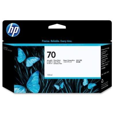 Inkoustová náplň HP 70 (C9449A) foto černá