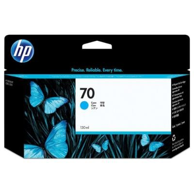 Inkoustová náplň HP 70 (C9452A) modrá