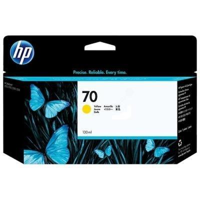 Inkoustová náplň HP 70 (C9454A) žlutá