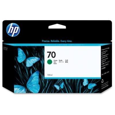 Inkoustová náplň HP 70 (C9457A) zelená