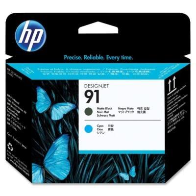 Tisková hlava HP 91 (C9460A) matná černá a modrá
