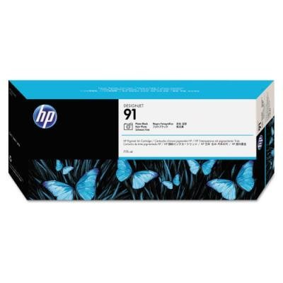 Inkoustová náplň HP 91 (C9465A) foto černá