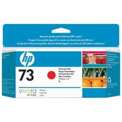 Inkoustová náplň HP 73 (CD951A) červená