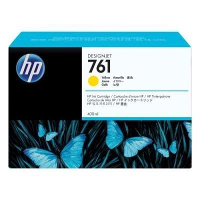 Inkoustová náplň HP 761 (CM992A) žlutá