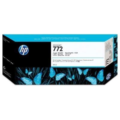 Inkoustová náplň HP 772 (CN633A) foto černá