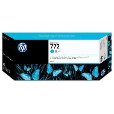 Inkoustová náplň HP 772 (CN636A) modrá