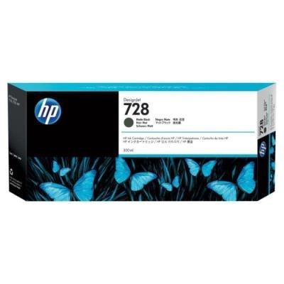 Inkoustová náplň HP 728 (F9J68A) matná černá