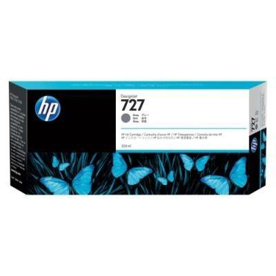 Inkoustová náplň HP 727 (F9J76A) modrá