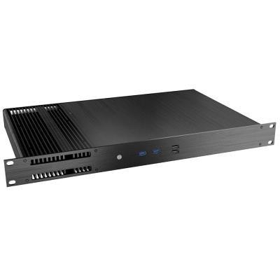AKASA skřín Galileo TU3 1U / A-ITX29-M1B / Mini-ITX case / 2x USB 3.0 / pasiv / černý