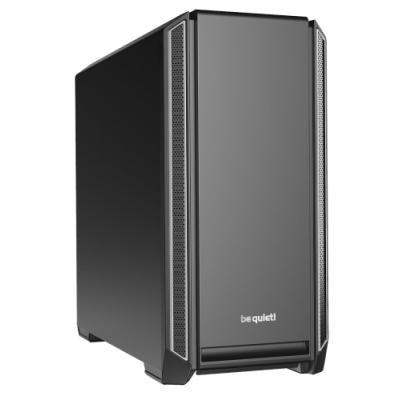 Be quiet! skříň SILENT BASE 601 / MidT / bez zdroje / 1x USB2.0 + 2x USB3.0 / regulátor otáček / stříbrná