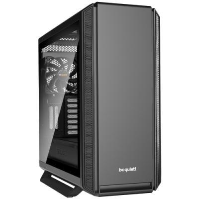 Be quiet! skříň SILENT BASE 801 Window / MidT / bez zdroje / 1x USB2.0 + 2x USB3.0 / průhledná bočnice / černá
