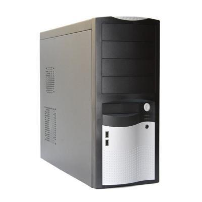 EUROCASE MidT ML-5410 CAROHO 350W (typická účinnost 85)/12cm/PFC, černostříbrná
