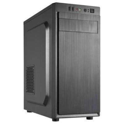 CRONO skříň Middle Tower MT-X3/ bez zdroje/ 2x USB 2.0/ černý