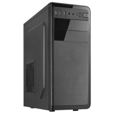 CRONO skříň Middle Tower 760i ATX/ bez zdroje/ 1x USB 3.0/ 2x USB 2.0/ 2x 3.5mm jack/ černý