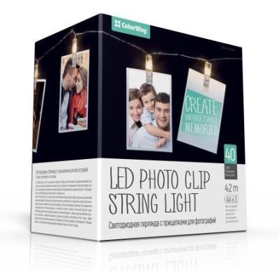 LED fotokolíčky ColorWay CW-LCP-40L42B