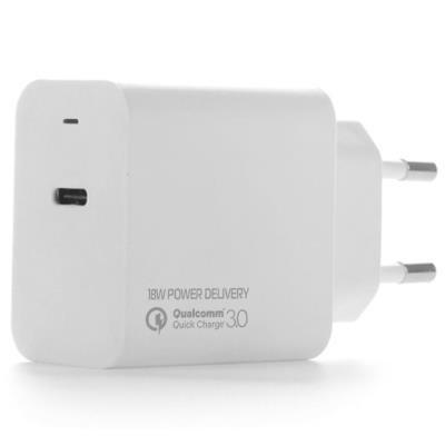 COLORWAY USB Type-C síťová nabíječka/ 18W/ 100V-240V