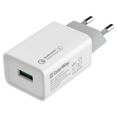ColorWay napájecí adaptér USB 18W