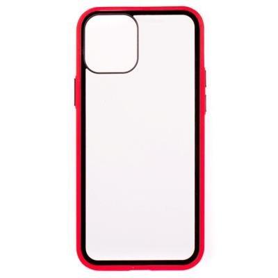 ColorWay Smart Clear Case na iPhone 12 Pro červený