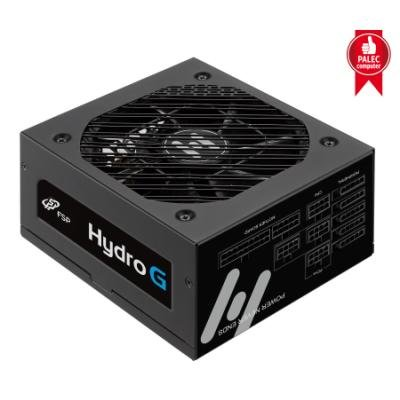 FORTRON zdroj HYDRO G 750W / ATX / 135mm fan / akt. PFC / GOLD 80 Plus / cable management