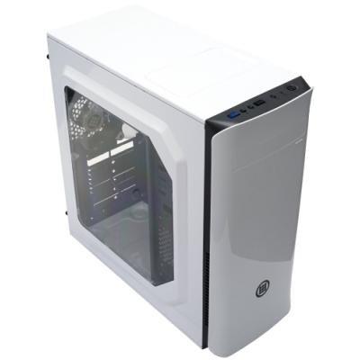 MICRONICS skříň FRONTIER H300 WHITE/ bez zdroje/ ATX/ 1x USB3.0/ 1x USB2.0/ bílá